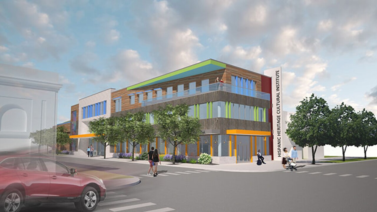 The Hispanic Heritage Cultural Institute is slated to open in 2024