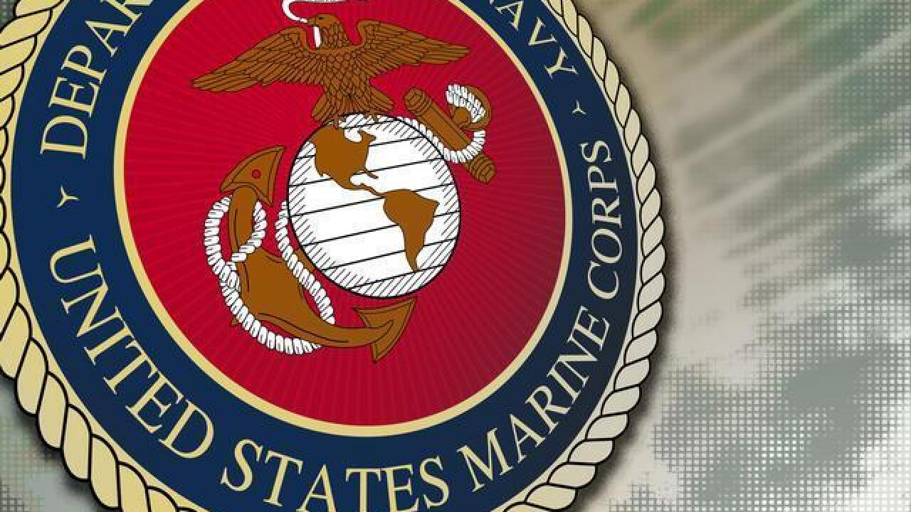 Three Marines stabbed during parking lot brawl