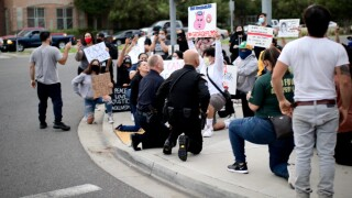 escondido police kneel with protesters 6_1.jpg