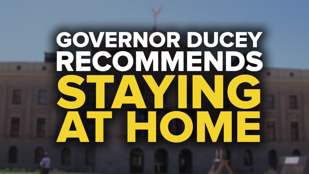 Governor Ducey 6-25 stay at home
