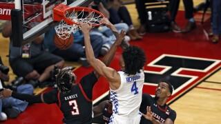 Kentucky Texas Tech Basketball