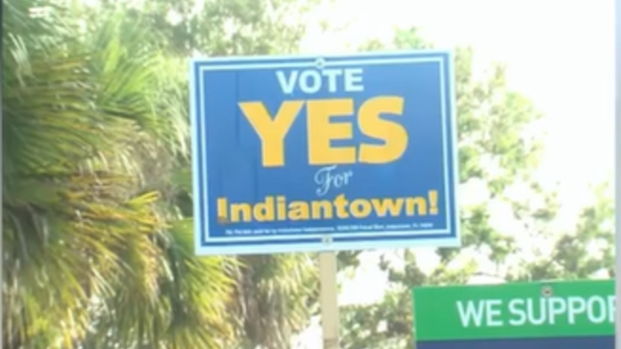 Historic vote makes Indiantown Martin County's newest municipality