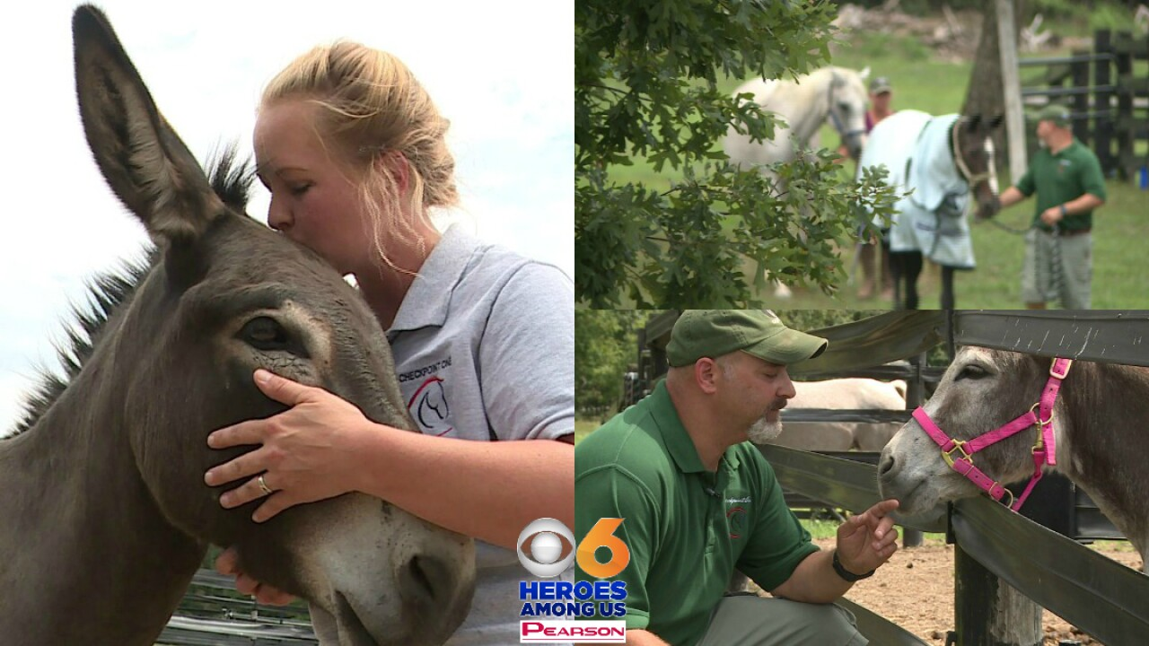 How these animals are helping veterans, first respondersheal
