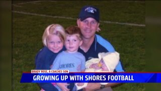 Brady Rose grew up with Shores football, now he is starring on theteam