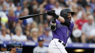 Charlie Blackmon Rock