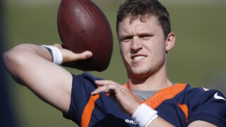 Broncos QB carousel keeps spinning as Rypien expected to start