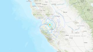 Central California Earthquake, October 18, 2021
