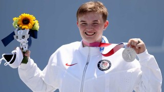 Podcast: Hobbled Hannah Roberts is stoked about her silver medal