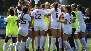 Soccer Advances to College Cup on PKs, 5-3, Over Duke