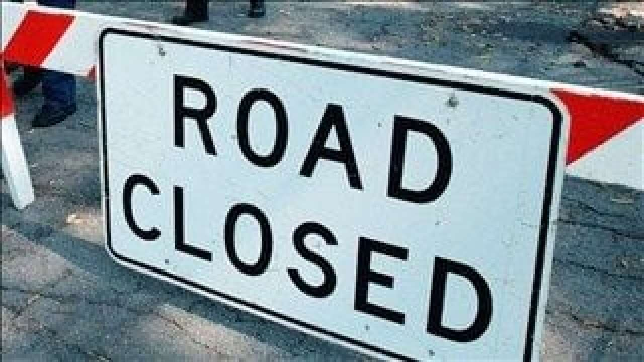 Lafayette roads to close Thursday for scheduled work