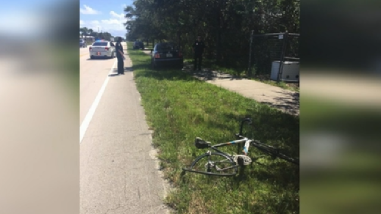 911 calls reveal reckless driver's actions before hitting bicyclist in Martin County