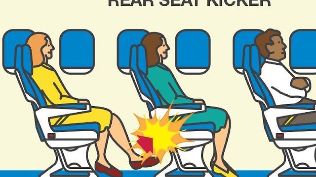 The most annoying type of airline passenger is ...
