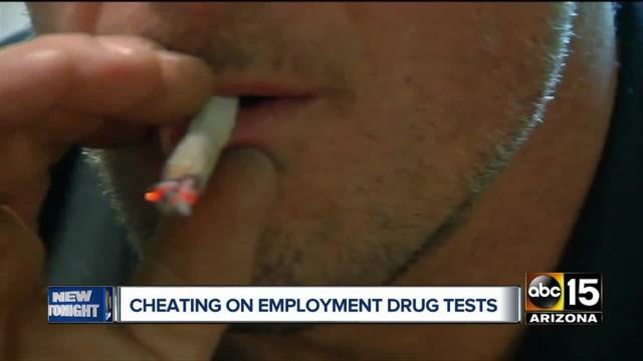 More cheaters trying to past company drug tests?