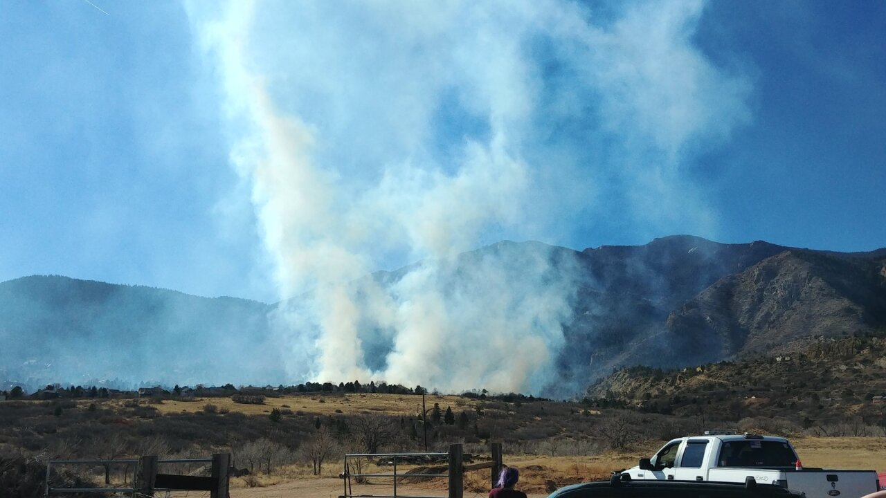 Bear Creek Fire