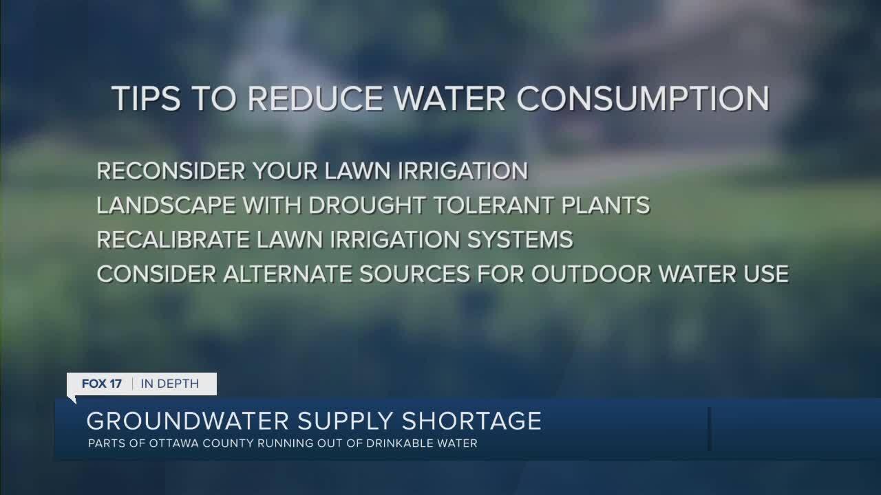 Ottawa County water supply shortage