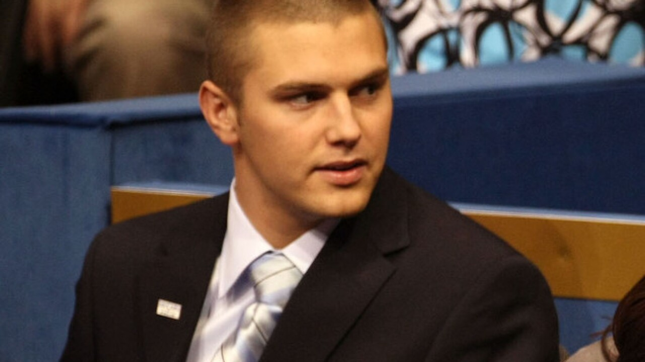 Sarah Palin's son arrested on domestic violence charges