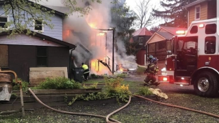 Allegany County fatal fire