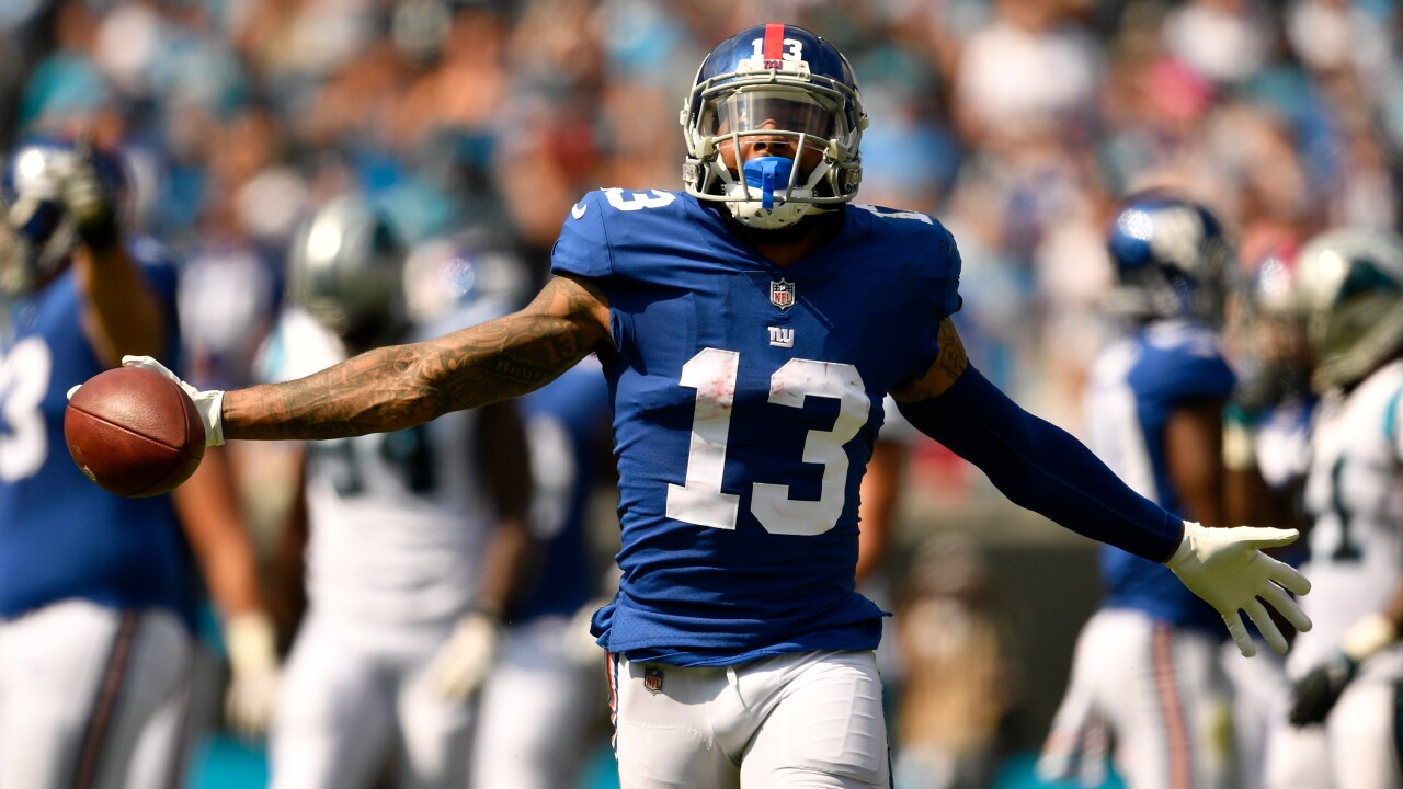 OH-BJ: Cleveland Browns trade for Giants receiver Odell Beckham Jr.