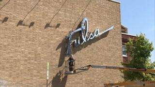 Tulsa Theater sign