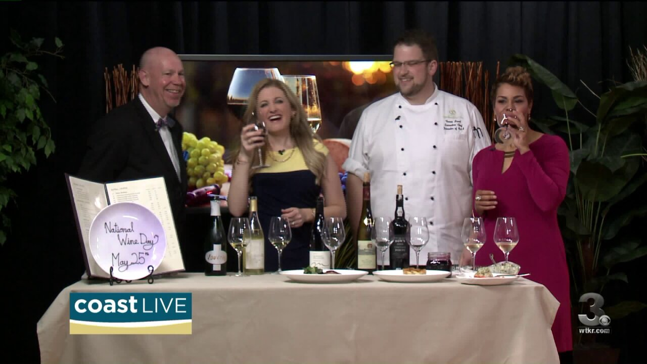 We are celebrating National Wine Day (of course we are) on Coast Live