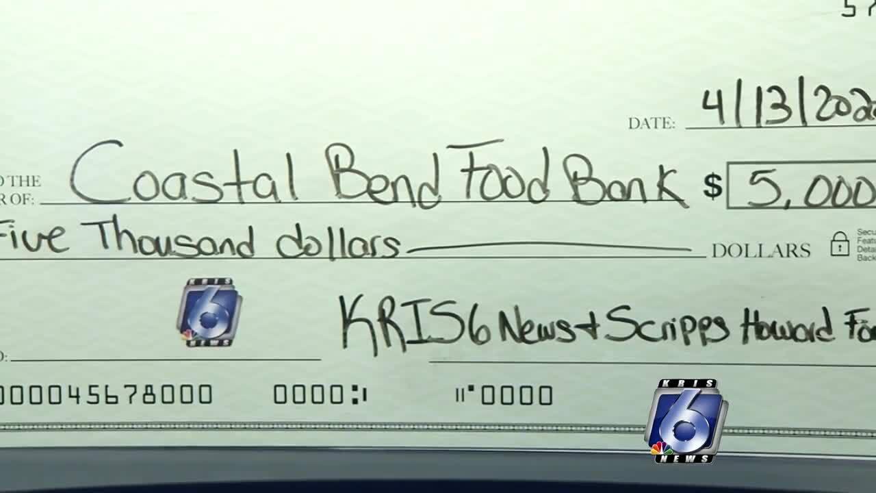 KRIS, KZTV, KAJA honored to help Coastal Bend Food Bank