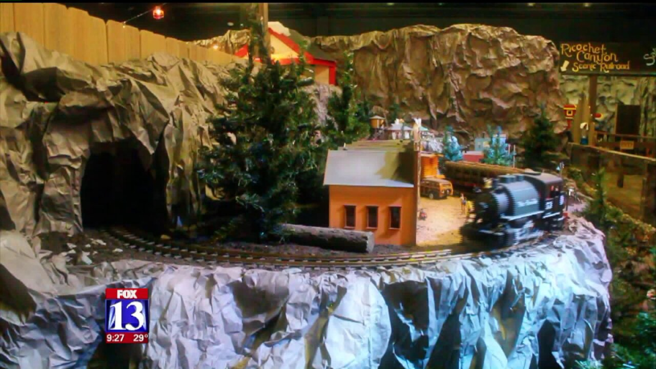 Uniquely Utah: Train Shoppe hosts model locomotives amid miniature landscapes