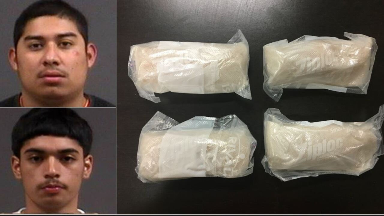 Men — with 2 pounds of meth — arrested inChesterfield