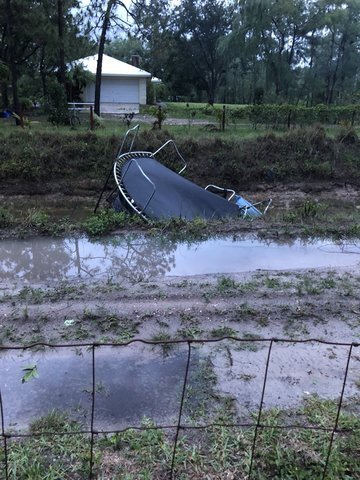 PHOTOS: Storms cause damage in Palm Beach County