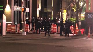 Cleveland police curfew