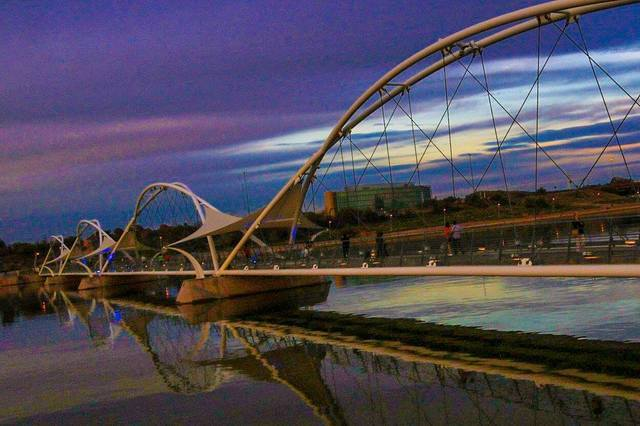 Tempe photo contest winners: Best photos of Tempe Town Lake pedestrian bridge
