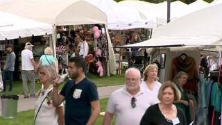 Spring Tennessee Craft Fair Held At Centennial Park