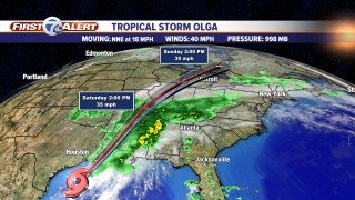 Gulf Tropical IR Satellite - Storm Track.png