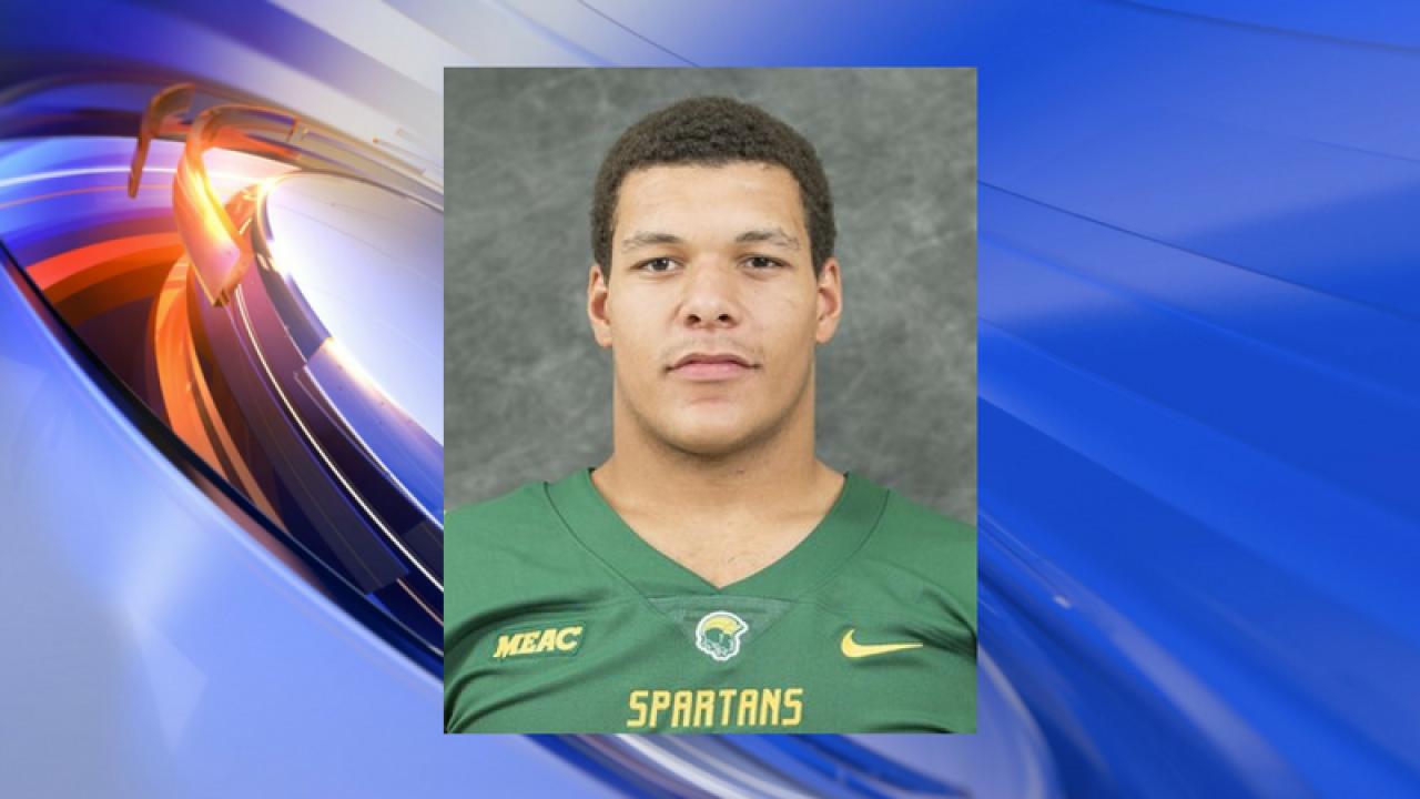 Norfolk State University football player killed inshooting