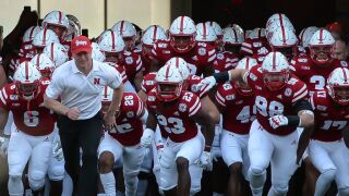 scott frost huskers tunnel walk