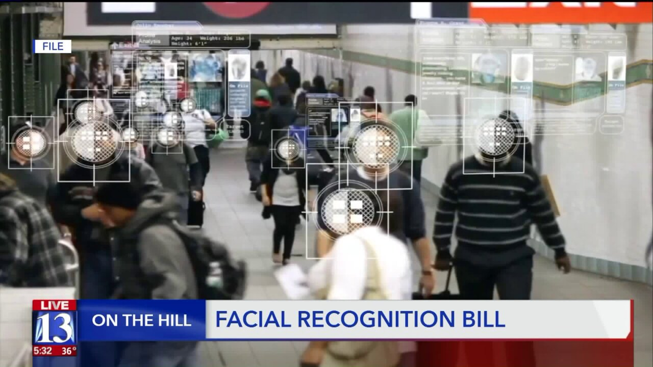 The Utah Department of Public Safety's use of facial recognition tech could be regulated by thelegislature