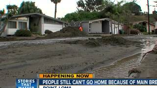 People remain out of homes after Point Loma water main break