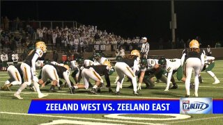 Zeeland West 42, Zeeland East 27