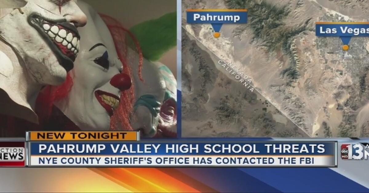 Pahrump homecoming receives clown threat