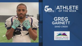 KOAA Athlete of the Week: Sand Creek's Greg Garnett