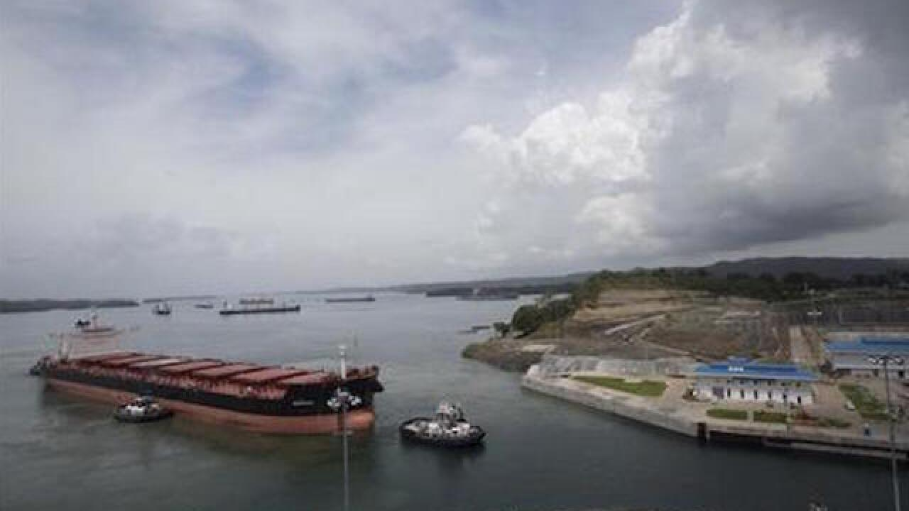 Newly expanded Panama Canal opens