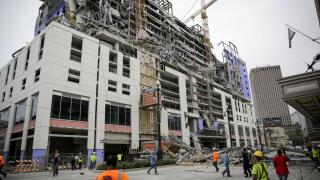 Effort to extract remains of New Orleans workers killed in Oct. building collapse could begin soon