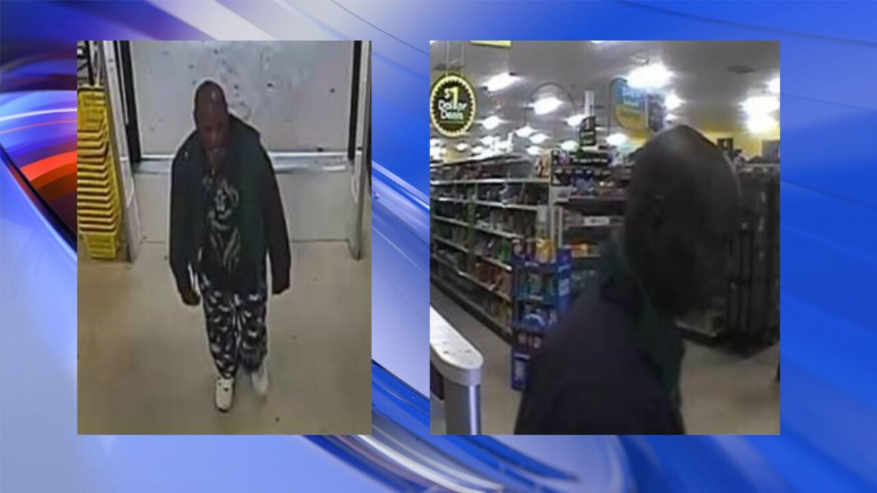 Police searching for larceny suspect in Newport News