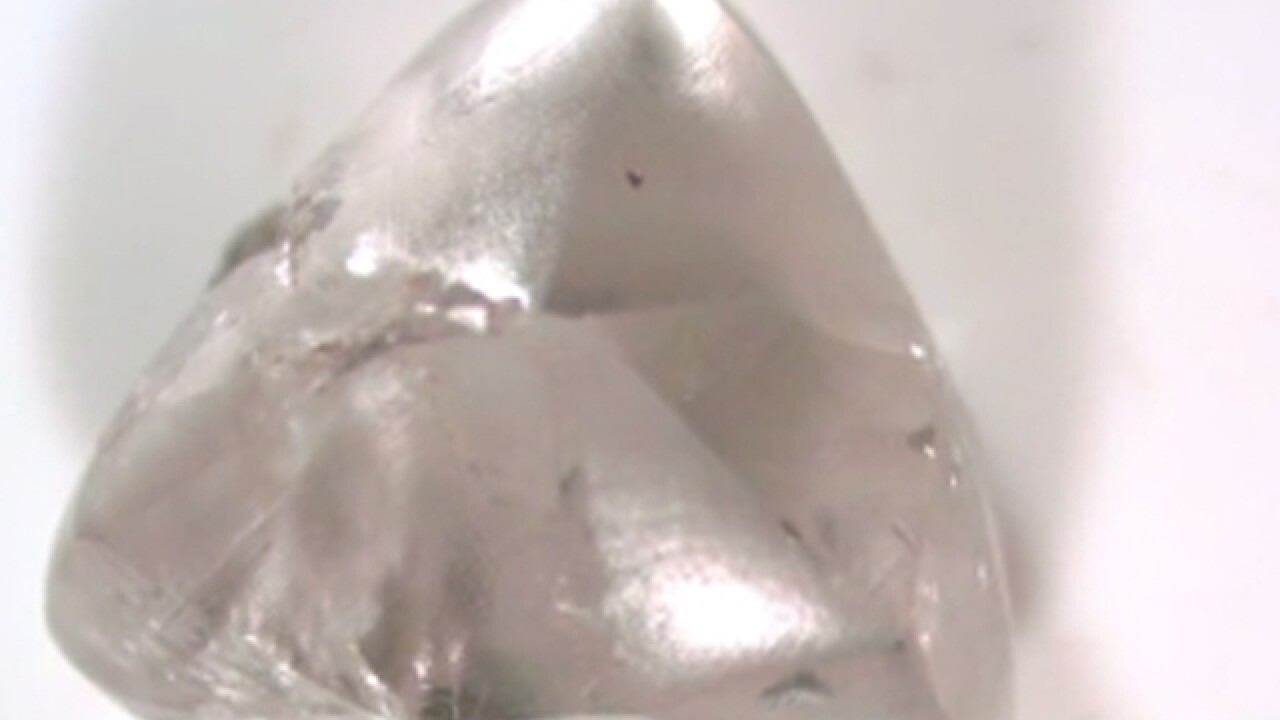 Dad, daughter find 2 carat diamond at park