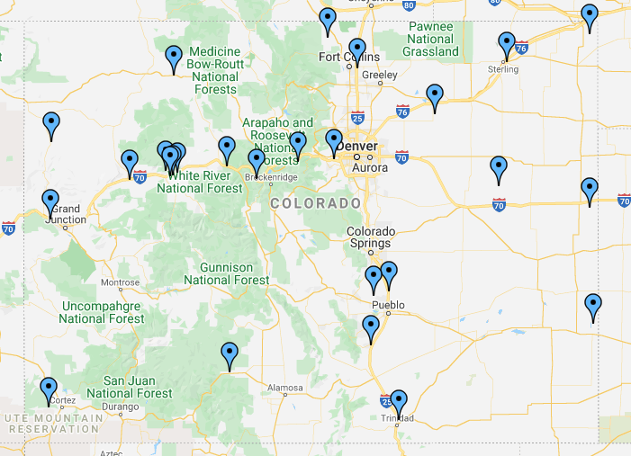 Colorado Rest Stops and Welcome Centers
