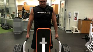 Bengals rookie Sam Hubbard focused on eating right and conditioning right to be ready for minicamp