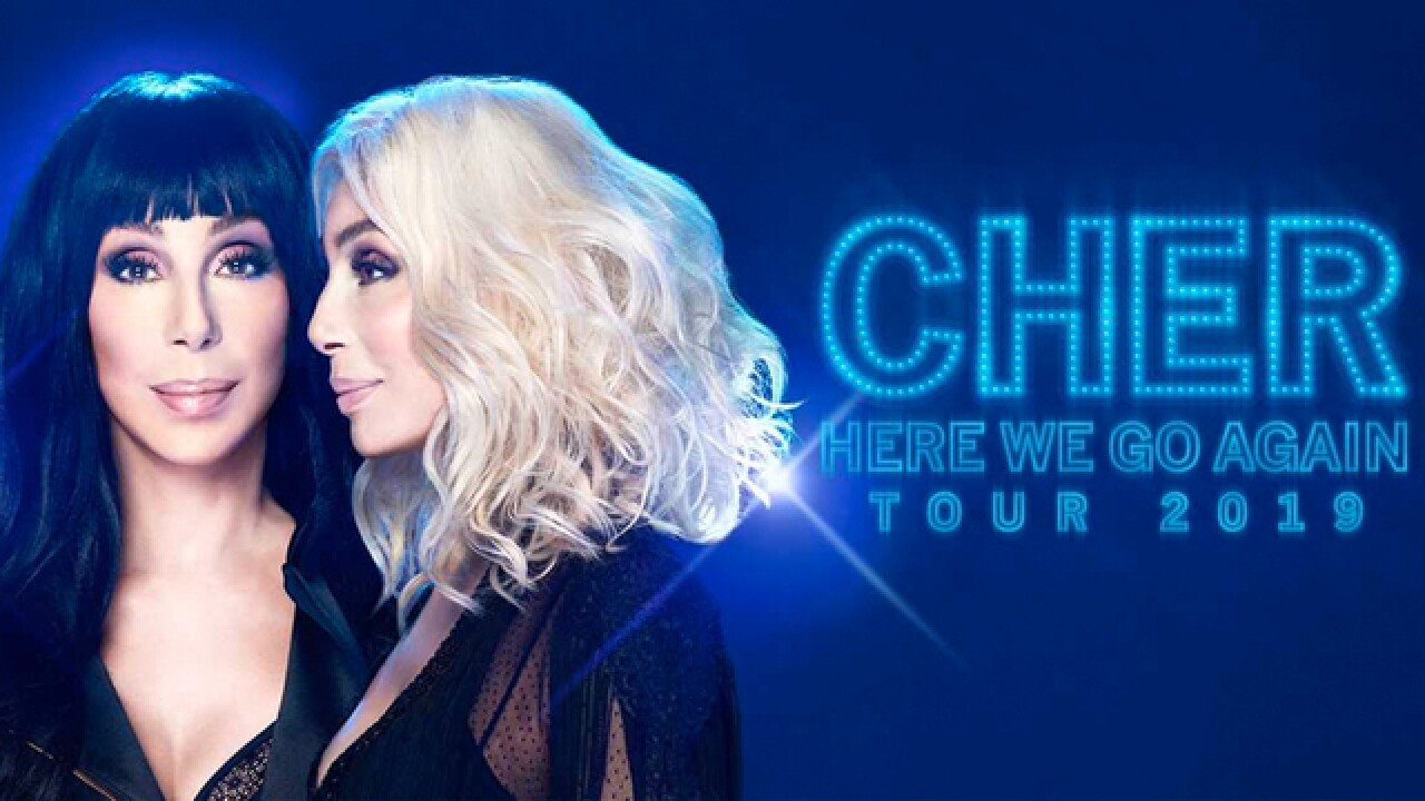 Cher's 2019 Tour Includes A Stop In Nashville