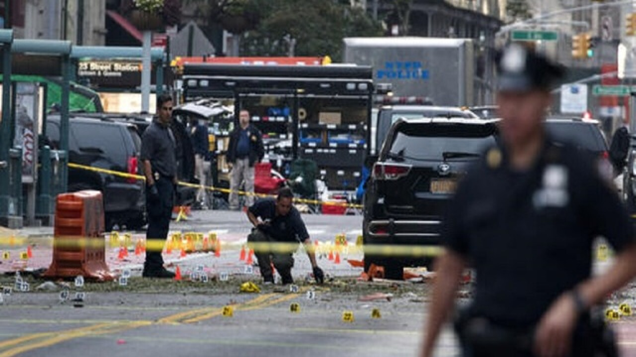 NYC explosion was bombing, authorities say