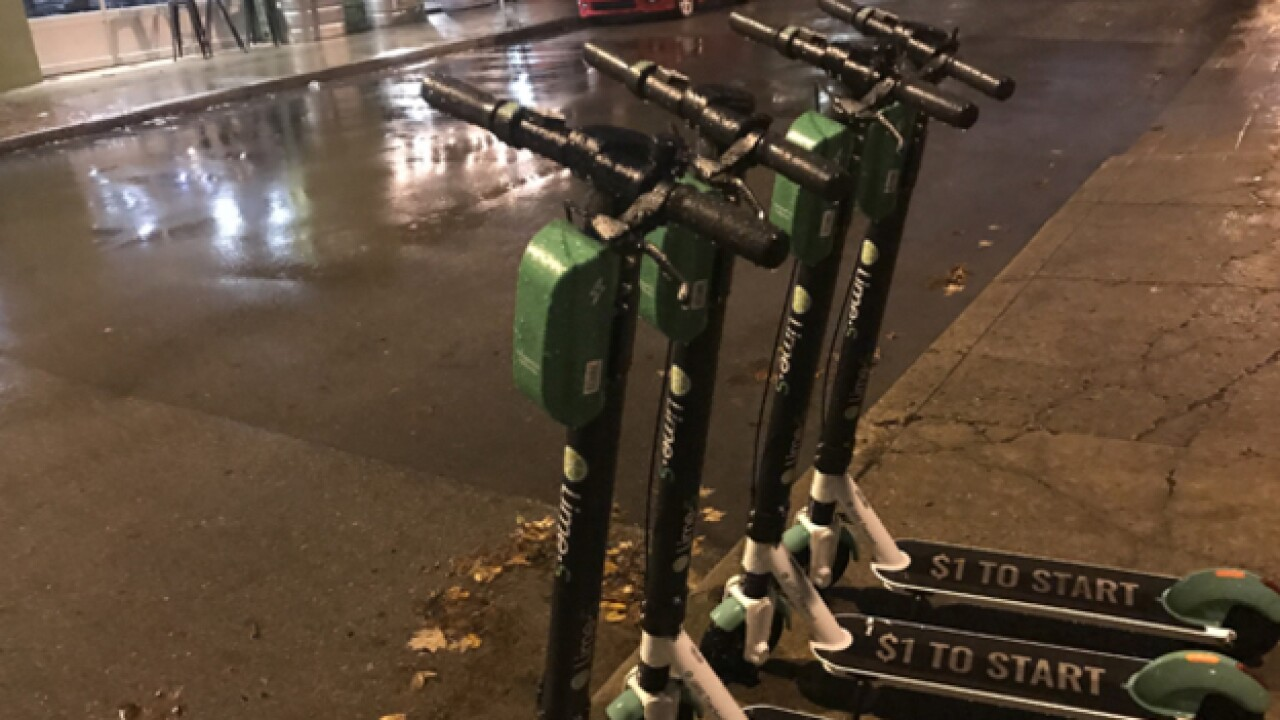 City to debate what scooters should do during winter weather