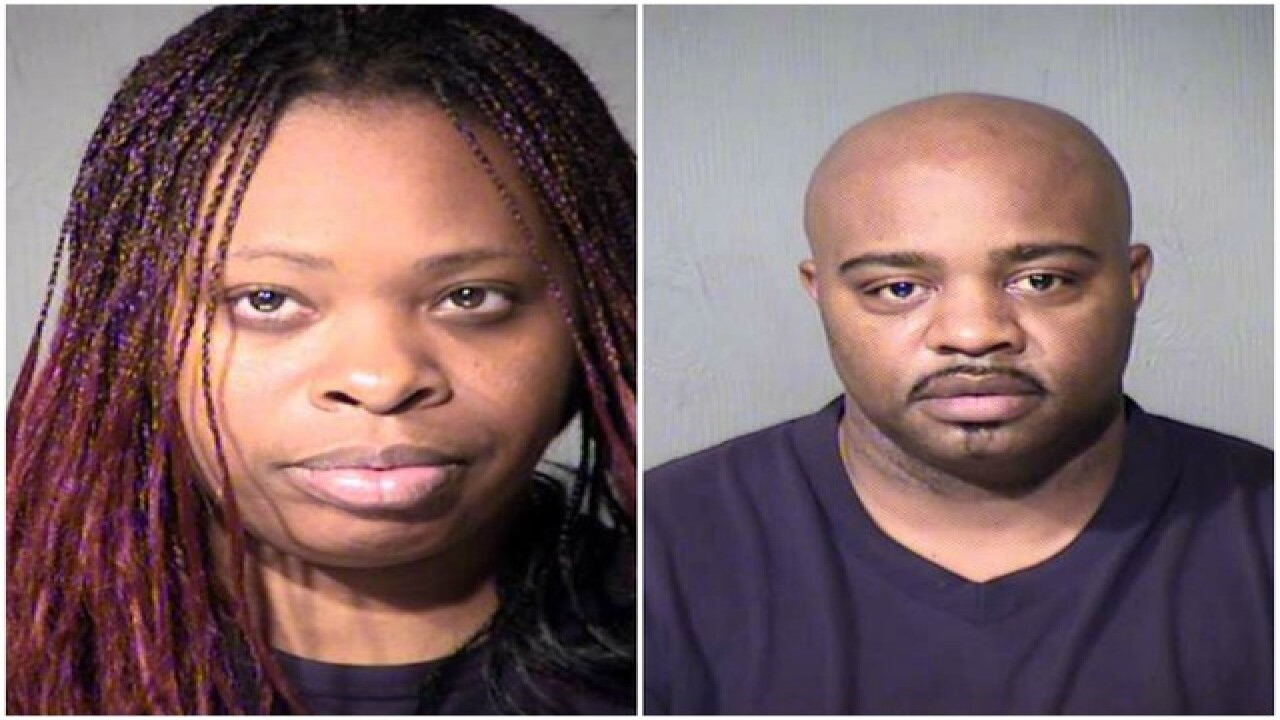 DCS responds to arrest of couple accused of 17 counts of
