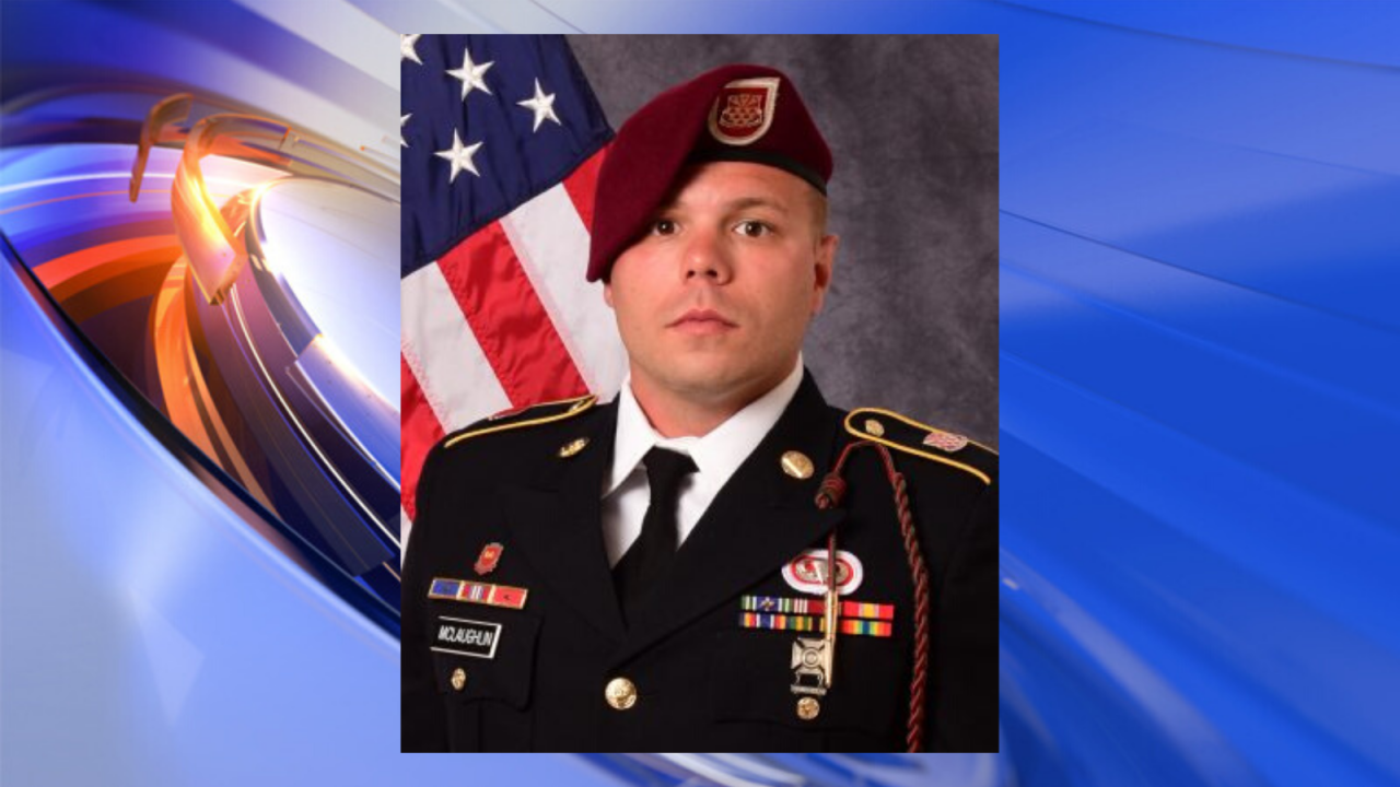 Remains of fallen Soldier from Newport News returned to Fort Bragg